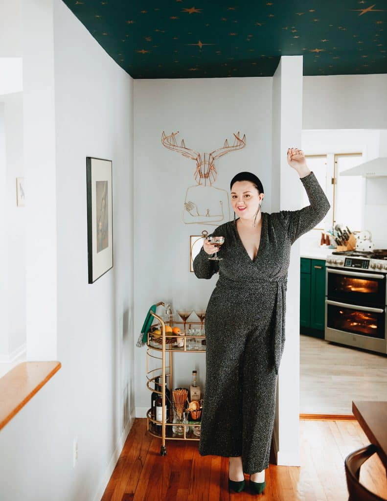 travel blogger, fashion blogger, food blogger, ootd, style, outfit, foodie, blogger, travel blog, fashion blog, food blog, bucket list, bucket list check, married life, married as fuck, mrs and mr judish, lynzi judish, dave brown, bucket list blog, NYC, plus-size, CB2, midcentury modern, bar cart styling, how to style a bar cart, anatomy of a bar cart, gold bar cart, bar tools, coupe glasses, martini glasses, bourbon, cocktails, history of bar carts, bar cart ideas, bar cart decor, bar cart accessories, bar cart styling apartments, bar cart inspiration, bar cart essentials